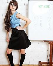Penelope Heilmann model. Photoshoot of model Penelope Heilmann demonstrating Runway Modeling.Runway Modeling Photo #174944