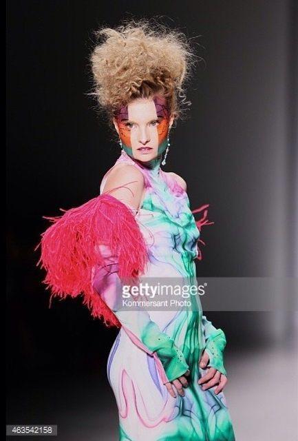 Penelope Heilmann model. Photoshoot of model Penelope Heilmann demonstrating Runway Modeling.Runway Modeling Photo #174967