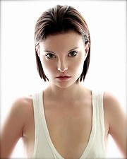 Penelope Heilmann model. Photoshoot of model Penelope Heilmann demonstrating Face Modeling.Face Modeling Photo #195407