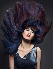 Phillip Todd master colorist. hair by hair stylist Phillip Todd.photographer: Sennia KyleCreative Hair Styling Photo #210369