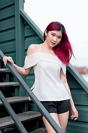 Pimnhara Wanichwichai model. Photoshoot of model Pimnhara Wanichwichai demonstrating Fashion Modeling.Fashion Modeling Photo #227636