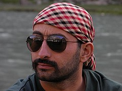 Pir Shahzeb Shah model. Photoshoot of model Pir Shahzeb Shah demonstrating Face Modeling.Face Modeling Photo #175416