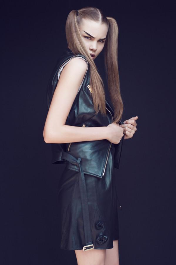 Polina Smirnova model (модель). Photoshoot of model Polina Smirnova demonstrating Fashion Modeling.Fashion Modeling Photo #112019
