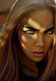Polina Smirnova model (модель). Photoshoot of model Polina Smirnova demonstrating Face Modeling.Face Modeling Photo #162827