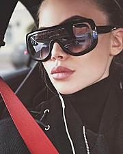Polina Smirnova model (модель). Photoshoot of model Polina Smirnova demonstrating Face Modeling.EyewearFace Modeling Photo #179322