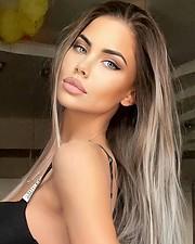 Polina Smirnova model (модель). Photoshoot of model Polina Smirnova demonstrating Face Modeling.Face Modeling Photo #233617