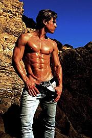 Pontus Duvsjo model. Photoshoot of model Pontus Duvsjo demonstrating Body Modeling.Body Modeling Photo #112600