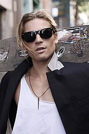 Pontus Duvsjo model. Photoshoot of model Pontus Duvsjo demonstrating Face Modeling.EyewearFace Modeling Photo #112598