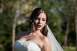 Popi Polizopoulou makeup artist (Πόπη Πολυζοπούλου μακιγιέρ). Work by makeup artist Popi Polizopoulou demonstrating Bridal Makeup.Bridal Makeup Photo #113292