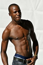 Prince Mpuru model. Photoshoot of model Prince Mpuru demonstrating Body Modeling.Body Modeling Photo #222706