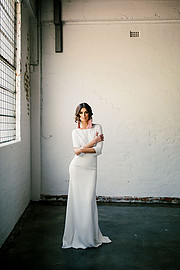 Rachel Webb model. Photoshoot of model Rachel Webb demonstrating Fashion Modeling.Campbell Spencer BridalFashion Modeling Photo #218848