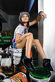 Rachel Wong makeup artist. Work by makeup artist Rachel Wong demonstrating Fashion Makeup.Fashion Makeup Photo #71020
