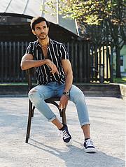 Rahul Datta model. Photoshoot of model Rahul Datta demonstrating Fashion Modeling.Fashion Modeling Photo #233528