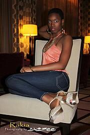 Rakia Powell model. Modeling work by model Rakia Powell. Photo #102603