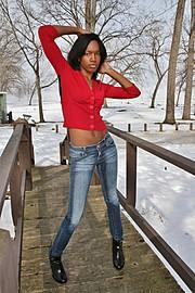 Rakia Powell model. Photoshoot of model Rakia Powell demonstrating Fashion Modeling.Fashion Modeling Photo #102607