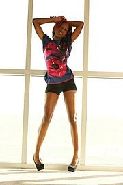 Rakia Powell model. Photoshoot of model Rakia Powell demonstrating Fashion Modeling.Fashion Modeling Photo #102609