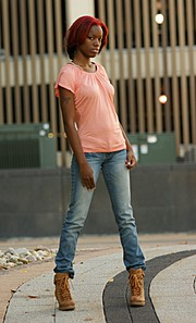 Rakia Powell model. Photoshoot of model Rakia Powell demonstrating Fashion Modeling.Fashion Modeling Photo #102610