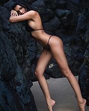 Raquel Petit model. Photoshoot of model Raquel Petit demonstrating Body Modeling.Body Modeling Photo #169193