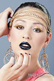 Rasha Petros makeup artist. makeup by makeup artist Rasha Petros.Earrings Photo #54952