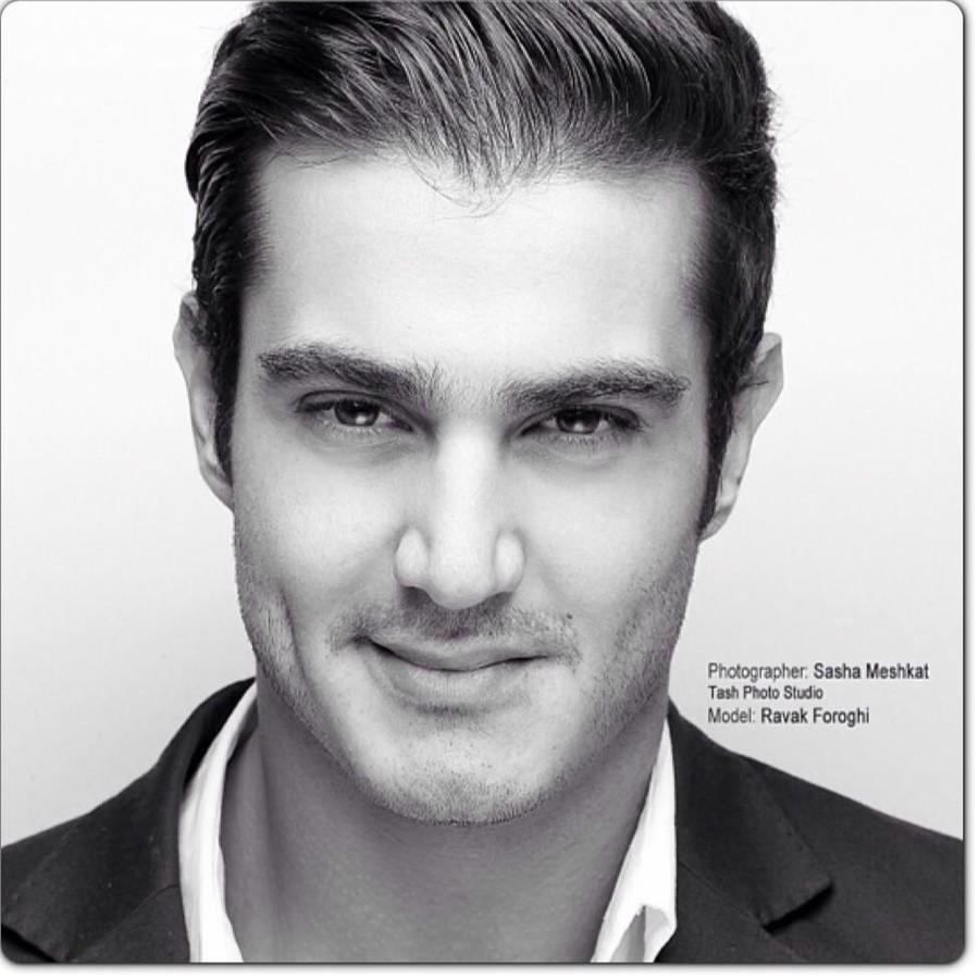 Ravak Foroughi model. Photoshoot of model Ravak Foroughi demonstrating Face Modeling.Face Modeling Photo #68888