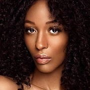 Raven Forrester model. Photoshoot of model Raven Forrester demonstrating Face Modeling.Irina Petrova Kendrick for Dazzling BloomFace Modeling Photo #211669