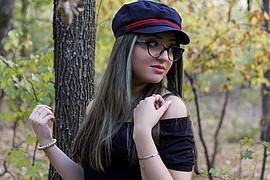 Rebecca Avram model. Modeling work by model Rebecca Avram. Photo #224272