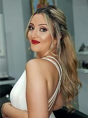 Reine Challita model (μοντέλο). Reine Challita demonstrating Face Modeling, in a photoshoot by Nikolas Nikolaos with makeup done by Artist: Suzie Haddad.PHOTOGRAPHER : NIKOLAS NIKOLAOSMAKEUP ARTIST: SUZIE HADDADFace Modeling Photo #216290