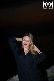 Reine Challita model (μοντέλο). Photoshoot of model Reine Challita demonstrating Face Modeling.Face Modeling Photo #227586