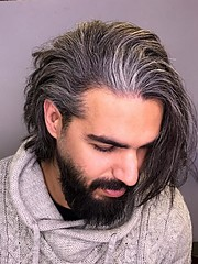 Ahmadreza is an Iranian model Hair Stylists , He studies Network manager at university, He is also soccer player. He is available for fashio
