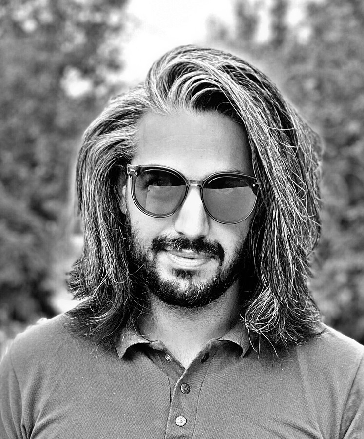 Reza Afjeh Hair Stylists Model