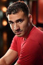 Rico Torres model. Photoshoot of model Rico Torres demonstrating Face Modeling.Face Modeling Photo #231661
