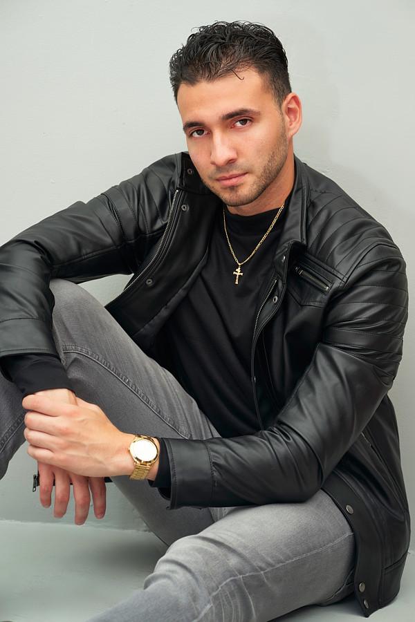 Rico Torres model. Photoshoot of model Rico Torres demonstrating Editorial Modeling.Editorial Modeling Photo #231665