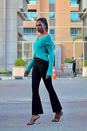 Riri Senoerita Joe professional model. Photoshoot of model Rita Joseph demonstrating Fashion Modeling.Fashion Modeling Photo #224906