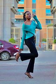 Riri Senoerita Joe professional model. Photoshoot of model Rita Joseph demonstrating Fashion Modeling.Fashion Modeling Photo #224907