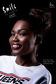 Riri Senoerita Joe professional model. Photoshoot of model Rita Joseph demonstrating Face Modeling.Face Modeling Photo #229785