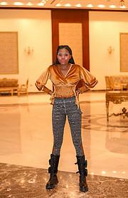 Riri Senoerita Joe professional model. Photoshoot of model Rita Joseph demonstrating Fashion Modeling.Fashion Modeling Photo #230539