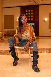 Riri Senoerita Joe professional model. Photoshoot of model Rita Joseph demonstrating Fashion Modeling.Fashion Modeling Photo #230541