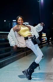 Riri Senoerita Joe professional model. Photoshoot of model Rita Joseph demonstrating Fashion Modeling.Fashion Modeling Photo #230548