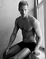 Roland Schoeman model. Modeling work by model Roland Schoeman. Photo #56622
