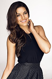 Rolene Strauss model. Photoshoot of model Rolene Strauss demonstrating Face Modeling.Face Modeling Photo #117815