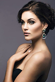 Rolene Strauss model. Photoshoot of model Rolene Strauss demonstrating Face Modeling.Face Modeling Photo #117818
