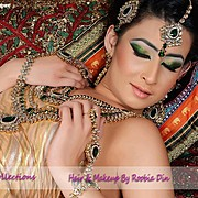Roobia Din makeup artist & hair stylist. makeup by makeup artist Roobia Din. Photo #40331
