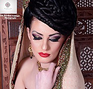 Roobia Din makeup artist & hair stylist. makeup by makeup artist Roobia Din. Photo #40469