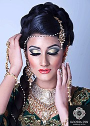 Roobia Din makeup artist & hair stylist. makeup by makeup artist Roobia Din. Photo #40643