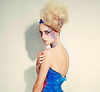 Rosanne Van Welzen model. Photoshoot of model Rosanne Van Welzen demonstrating Face Modeling.Face Modeling Photo #104475
