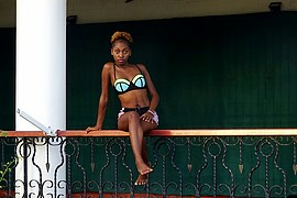 Rose Namikoye model. Photoshoot of model Rose Namikoye demonstrating Body Modeling.Body Modeling Photo #199011