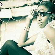 Rose Okwende model. Photoshoot of model Rose Okwende demonstrating Face Modeling.Face Modeling Photo #222082