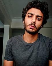 Roshdy Mohamed model. Photoshoot of model Roshdy Mohamed demonstrating Face Modeling.Face Modeling Photo #227273