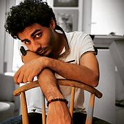 Roshdy Mohamed model. Photoshoot of model Roshdy Mohamed demonstrating Face Modeling.Face Modeling Photo #227275