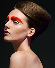 Ross Mccallum makeup artist & hair stylist. Work by makeup artist Ross Mccallum demonstrating Creative Makeup in a photoshoot of Skye Jamieson.Photography: Thomas McInnis PhotographyCreative Makeup Photo #64269